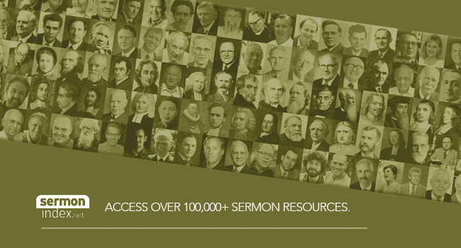 Access over 100,000 sermon. resources