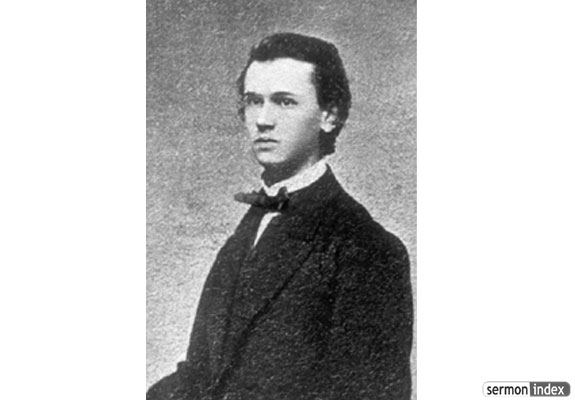 Albert Benjamin Simpson at age 17