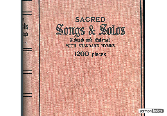 Sacred Songs and Solos. ca. 1880