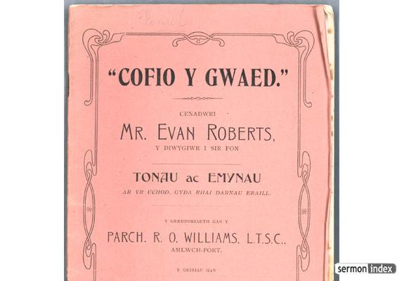 Cofio y Gwaed. 1905