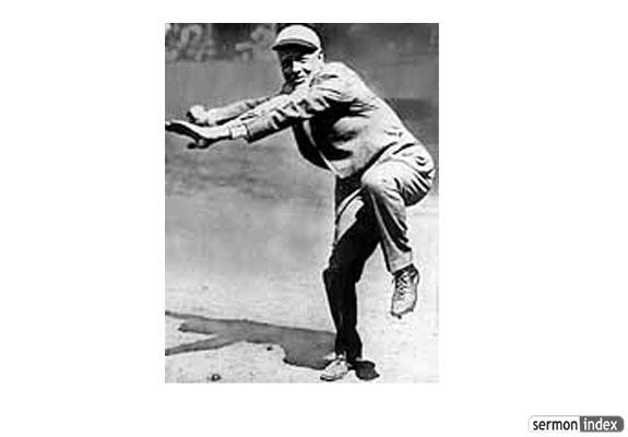 Billy Sunday Pitching