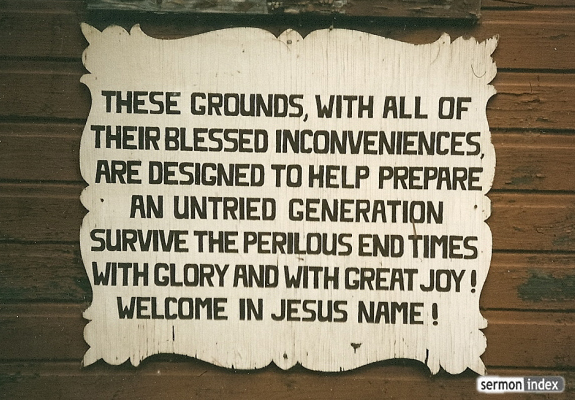 Survive The Perilous End Times