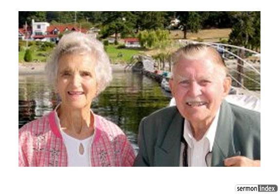 Major Ian Thomas and Wife