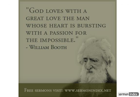 William Booth Quote