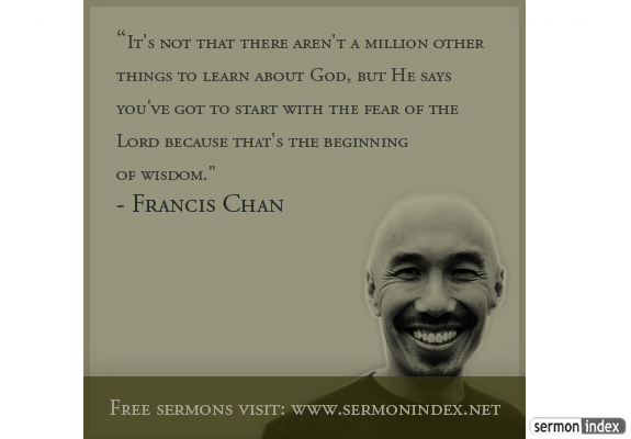 Francis Chan Quotes Francis Chan Quote