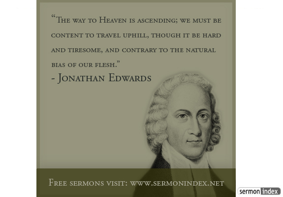 jonathan edwards quote sermon index