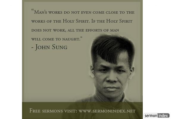 John Sung Quote
