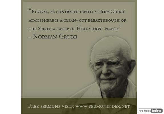 Norman Grubb Quote