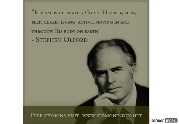 Stephen Olford Quote