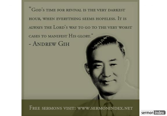 Andrew Gih Quote