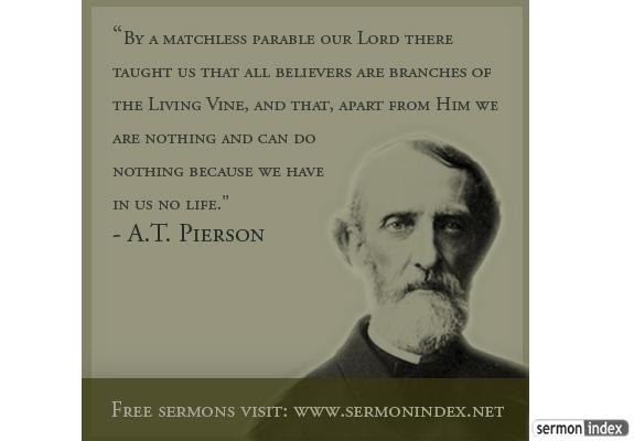 A.T. Pierson Quote