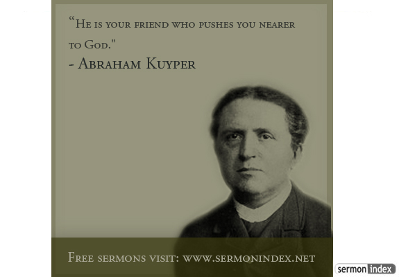 Abraham Kuyper Quote