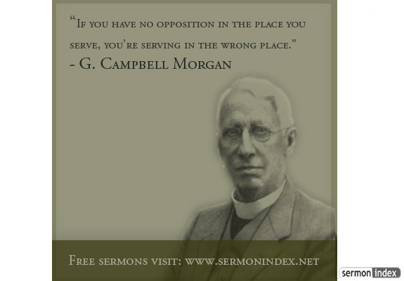 G. Campbell Morgan Quote