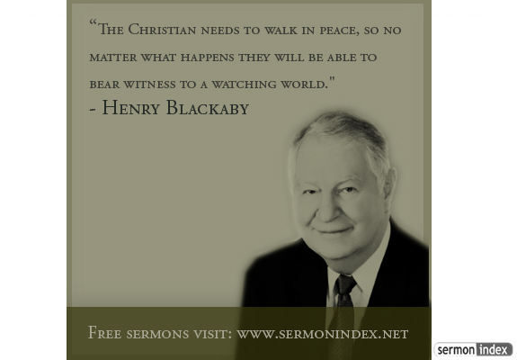 Henry Blackaby Quote