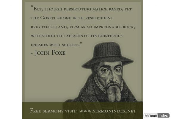John Foxe Quote