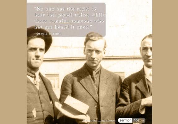 Oswald J. Smith Quote