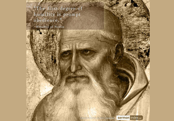 Benedict of Nursia Quote