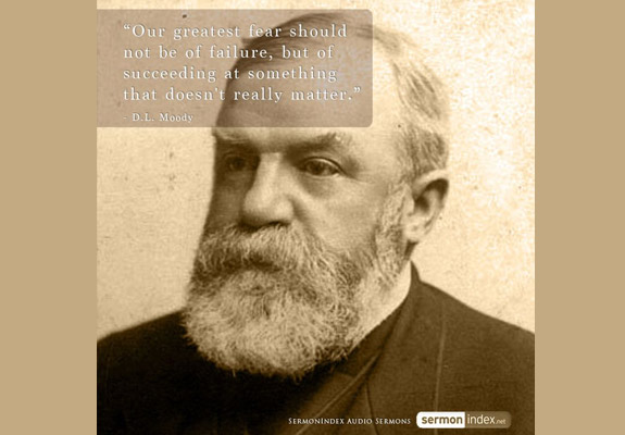 D.L. Moody Quote