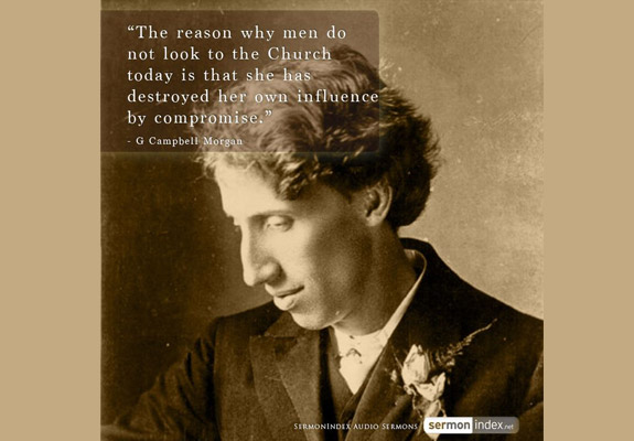 G Campbell Morgan Quote
