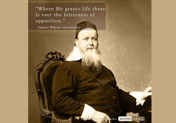 Samuel Hebich Quote
