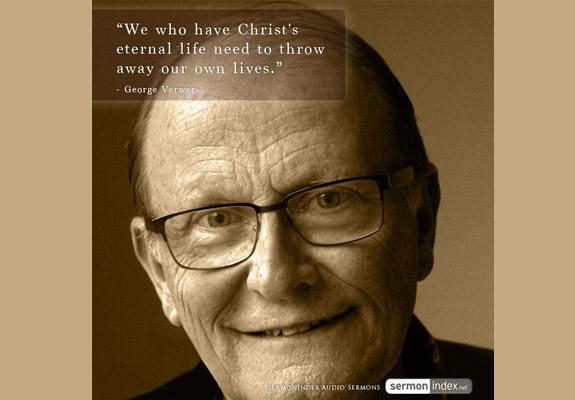 George Verwer Quote