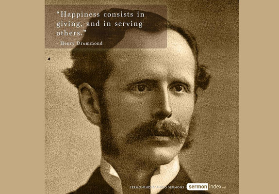 Henry Drummond Quote