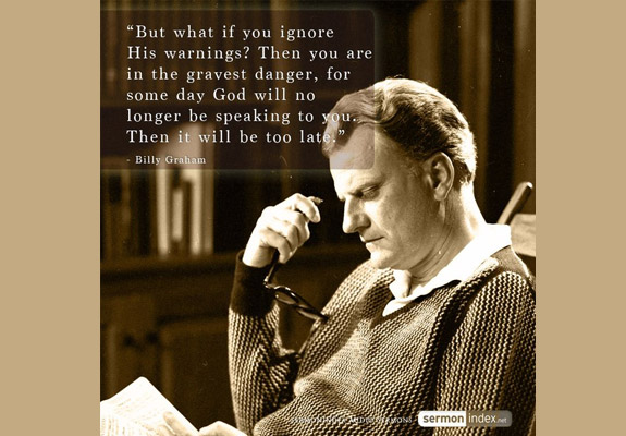 Billy Graham Quote