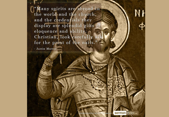 Justin Martyr Quote