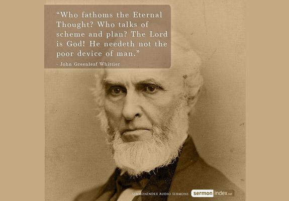 John Greenleaf Whittier Quote