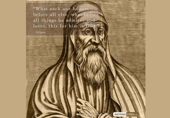 Origen Quote