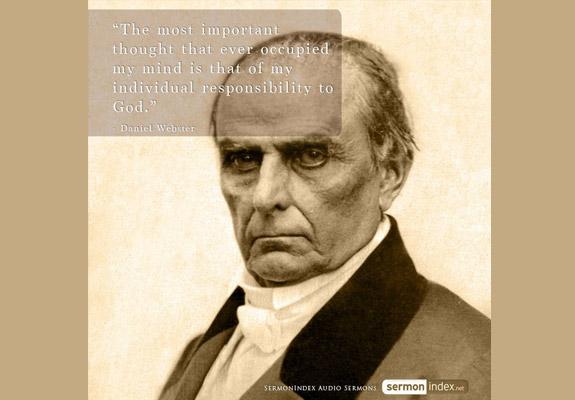 Daniel Webster Quote