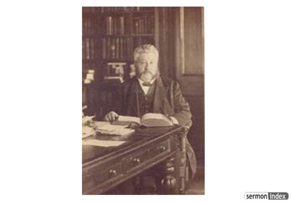 C.H. Spurgeon in Study