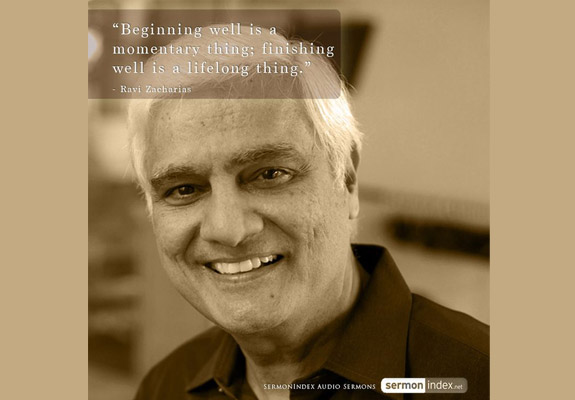 Ravi Zacharias Quote