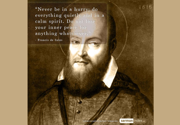 Francis de Sales Quote