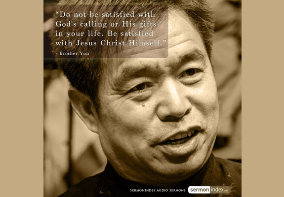 Brother Yun Quote