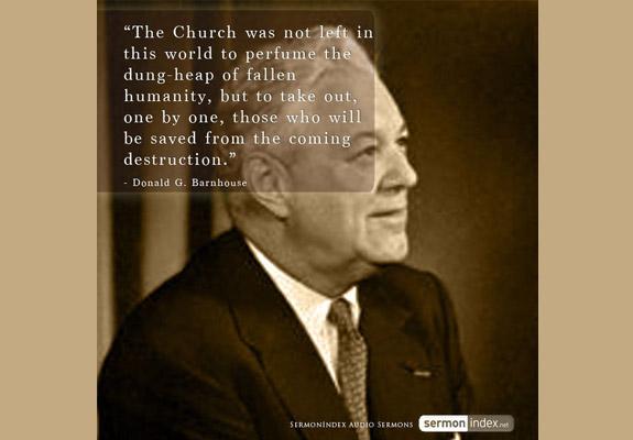 Donald G. Barnhouse Quote