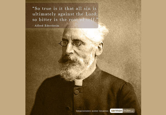 Alfred Edersheim Quote