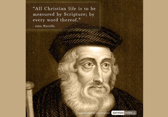 biography of john whycliffe John wycliffe biography john wycliffe (1330 -1384) was a theologian, philosopher, lay preacher and translator john wycliffe produced some of the first hand written english translations of the bible and helped to.