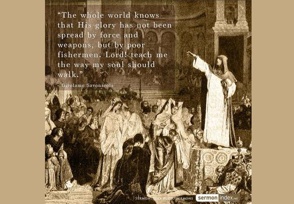 Girolamo Savonarola Quote