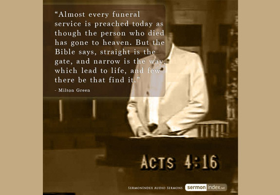 Milton Green Quote