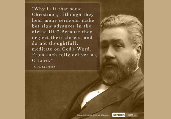 C.H. Spurgeon Quote 2