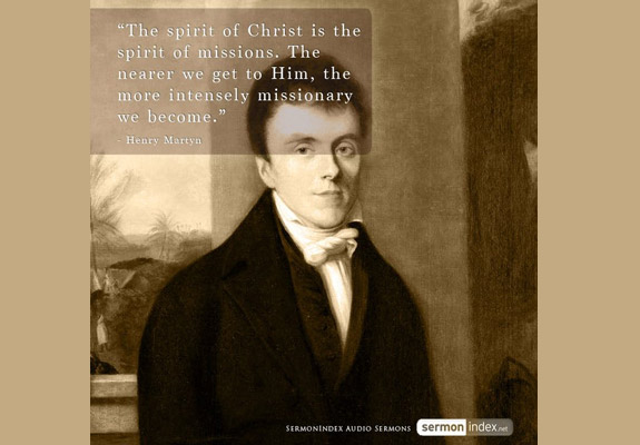 Henry Martyn Quote