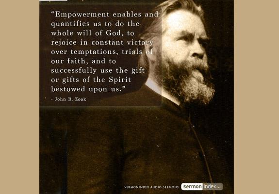 John R. Zook Quote