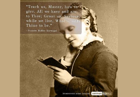 Frances Ridley Havergal Quote
