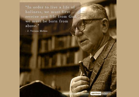J. Vernon McGee Quote