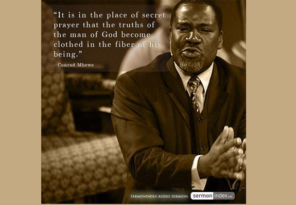 Conrad Mbewe Quote