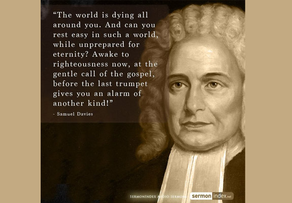 Samuel Davies Quote