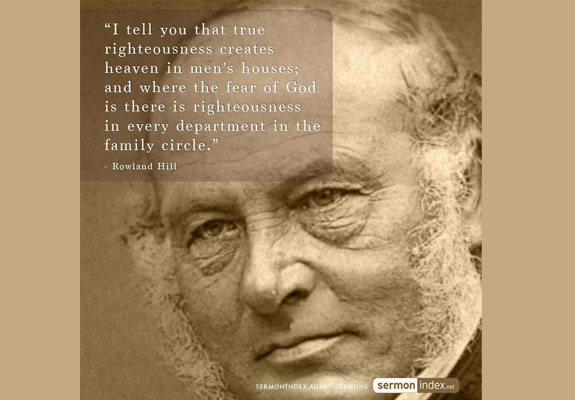 Rowland Hill Quote