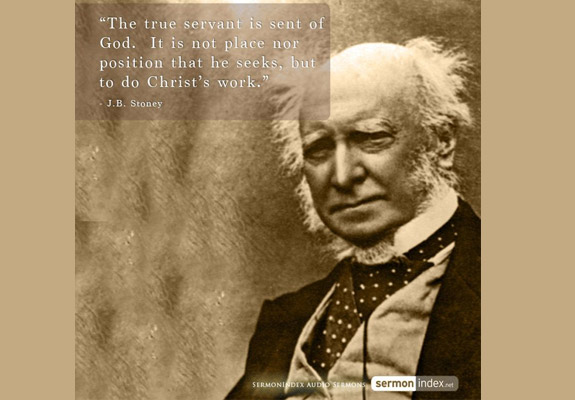 J.B. Stoney Quote