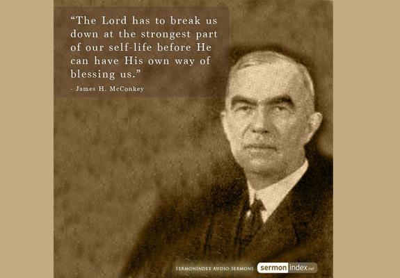 James H. McConkey Quote